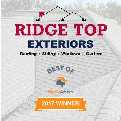 Ridge Top Exteriors Best Of HomeAdvisor 2017 Winner